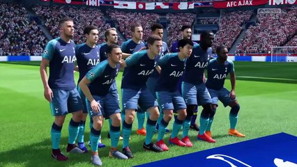 Ajax vs. Tottenham Hotspur - UEFA Champions League Semi-final 2018-19 - CPU Prediction