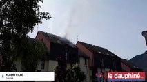 SAVOIE : Incendie à Albertville