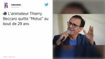 Thierry Beccaro, présentateur de Motus, quitte France Télévisions