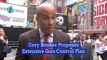 Cory Booker Has His Gun Control Plan