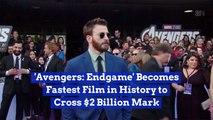 Avengers: Endgame Earns 2 Billion Dollars In Less Than A Month