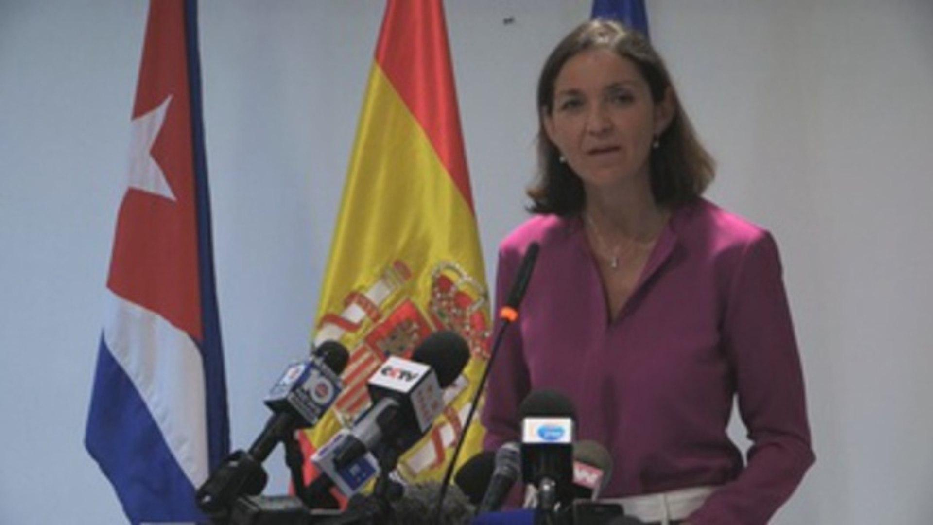 Ministra de España pide a Cuba un plan de pago de deuda a los empresarios españoles
