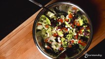 Recette : Salade grecque
