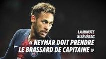 PSG : «Il faut prendre Neymar comme capitaine»