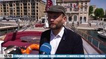L'écrivain et aventurier Sylvain Tesson embarque à Marseille sur les traces d'Ulysse