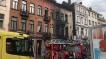 Schaerbeek - Incendie Avenue de la Reine