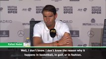 Nadal fumes at women's salary question