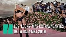 Los 'looks' más extravagantes de la Gala Met 2019