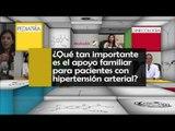 ¿Qué tan importante es el apoyo familiar para pacientes con hipertensión arterial?