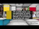 010 SE PUEDE LOGRAR UNA RECUPERACION AL 100 DE LA ALERGIA A LAS PROTEINAS DE LA LECHE DE VACA