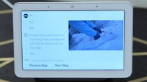The Google Nest Hub Max could teach you how to do anything with templates