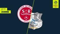 Résumé - Stade de Reims - Amiens SC ( 2-2 )