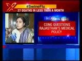 27 Swine flu deaths in one month in Rajsthan