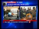 Last rites of martyred Colonel M N Rai being held in Delhi