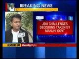 JDU moves Court against Manjhi government