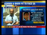 Team management rubbishes Ashwin injury reports