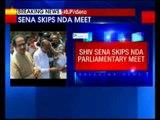 Shiv Sena skips NDA parliamentary meet