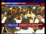 Chowdhury supporters & woman complainant argue over press meet