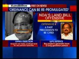 Land Bill offensive decoded, says Union Minister Venkaiah Naidu to NewsX