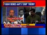 Sanjay Singh defends Kejriwal, blames Bhushan and Yogendra Yadav for AAP crisis