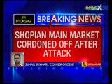 Grenade attack in Shopian main market in Jammu and Kashmir