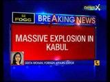 Massive blast in Kabul