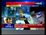 Gurdaspur Terror Attack: CCTV footage of terrorists driving hijacked car