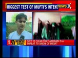 What is Mufti Mohammad Sayeed's justification for not arresting Asiya Andrabi?