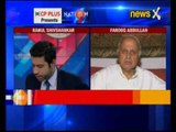 Former Jammu and Kashmir chief minister Farooq Abdullah speaks exclusively on NewsX
