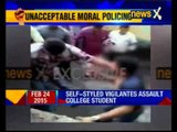 Youth in Mangalore was tied to pole and badly beaten