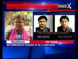 NIA announces reward of Rs 5 lakh each on Lashkar-e-Toiba terrorist Abu Okasha, Abu Qasim