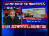 Staff's son dies of dengue: AIIMS workers' union holds protest, alleges negligence by doctors