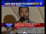 FTII row: Aamir Khan extends support to protesting FTII students