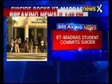 IIT-Madras student commits suicide