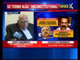 NJAC Case: Ram Jethmalani speaks on the decision by the Supreme Court