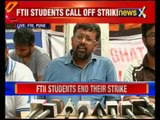FTII students call off strike, to join classes
