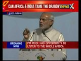 India-Africa summit: PM Modi addresses delegates of 54 African countries