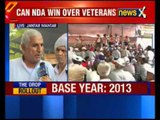 OROP: Ex-servicemen to return medals today to protest against government's notification