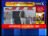 Prime Minister Narendra Modi arrives in Delhi from Paris