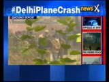 Aircraft crash in Delhi: We saw a plane spiralling down and crashing near the wall, says Witnesses