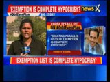 Robert Vadra speaks out on VIP exemption