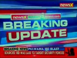 Pulwama IED blast, Jammu and Kashmir: 1 civilian injured, explosive device target security personnel