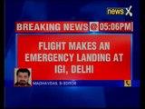 Air India flight to Milan makes emergency landing at Delhi Airport