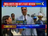 President Pranab Mukherjee reviews India's naval might at International Fleet Review 2016