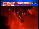 Massive fire breaks out during cultural programme at 'Make in India' event in Mumbai