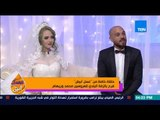 عسل أبيض - رد فعل العروسين محمد وريهام وتعليقهم على مفاجأة قناة TeN لهم