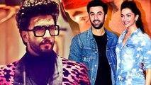 How Ranveer Singh Feels About Deepika Padukone Working With Ex-Ranbir Kapoor