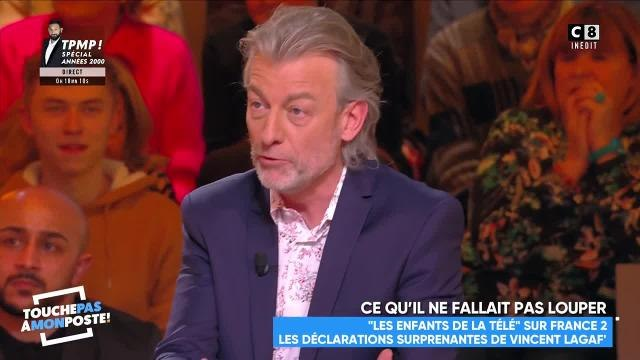 """""""C'est honteux la manière dont il se comporte"""" Gilles Verdez s'en prend à Vincent Lagaf' - Touche pas à mon poste vendredi 1er mars 2019"""