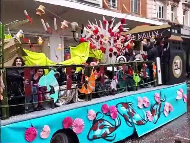 Carnaval 2019 de Chambéry : ambiance et embrasement de Monsieur Carnaval
