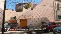 Marseille : la mairie veut détruire des immeubles habités jugés dangereux